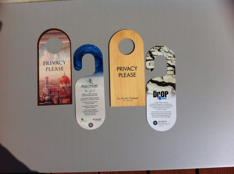 Privacy Door Hangers
