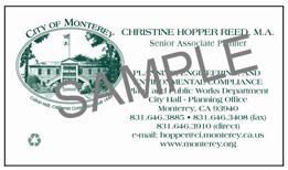 City of Monterey-sample